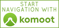 START NAVIGATION WITH KOMOOT